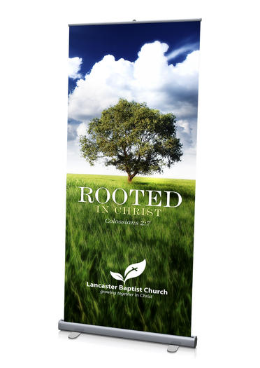 Rooted in Christ Theme Banner