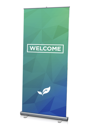 Welcome Banner Green