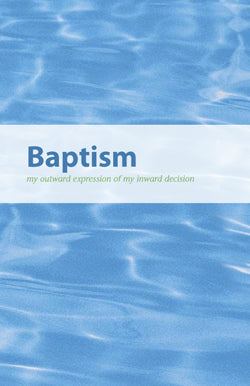 Baptism Brochure Bifold (English) Pack of 100
