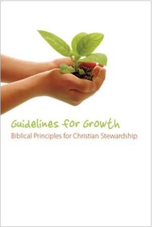 Stewardship Bulletin Insert - Guidelines for Growth (Pack of 100)
