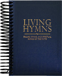 Less Than Perfect: Living Hymns Large Print Piano Book Navy