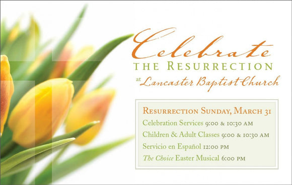 Celebrate the Resurrection—Outreach Card