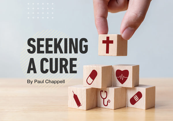 Seeking a Cure Pre-Printed Gospel Tract