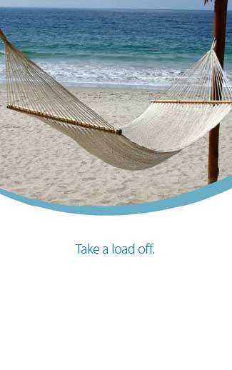 Take a Load Off (tall)—Gospel Tract