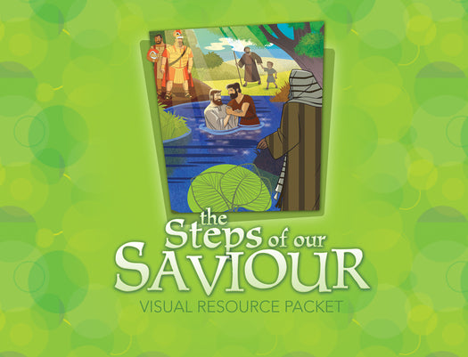 The Life of Christ: Steps of Our Saviour Visual Aid Pack
