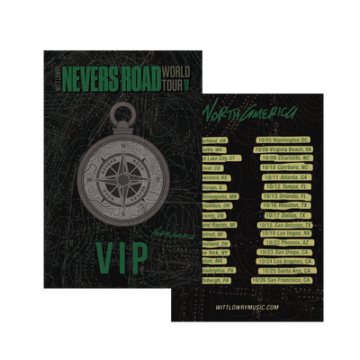 VIP North American Tour Laminate