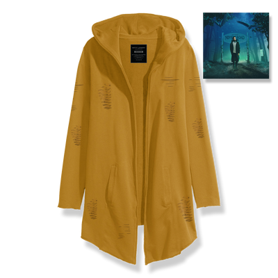 Mustard Yellow Custom Tattered Cloak Bundle