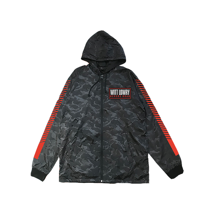 Patch Zip Windbreaker