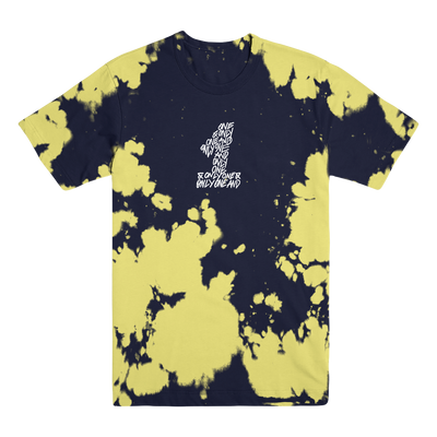 Black and Yellow Dyed Tee