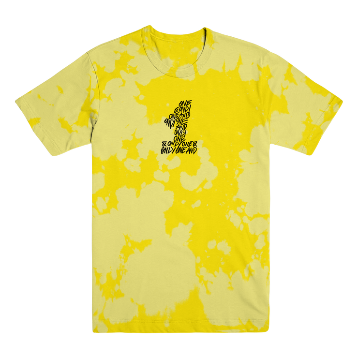 Yellow on Yellow Bleached Tee