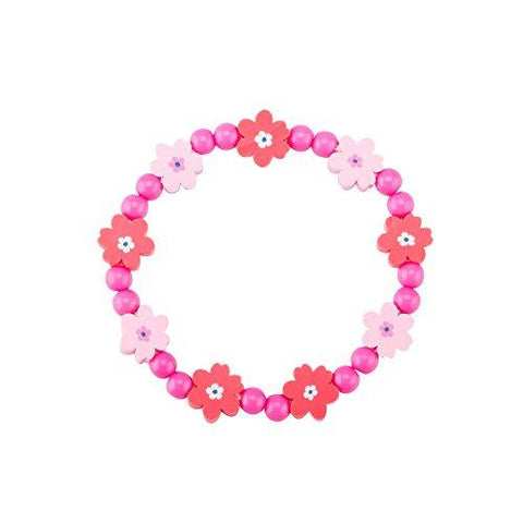 Bracelet Set Kids jewelry- Flower Beads Bracelet for Girls-Children's Fashion Jewelry Set of 3