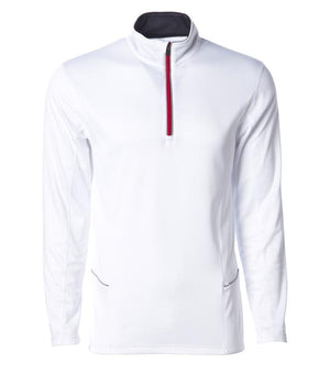 sport cadet zip white poly-tech