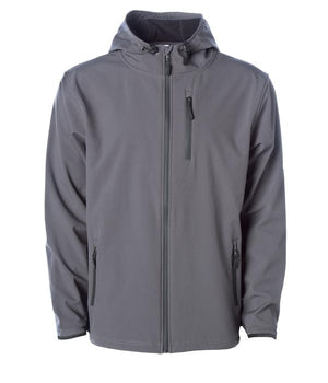 soft shell grey waterproof jacket