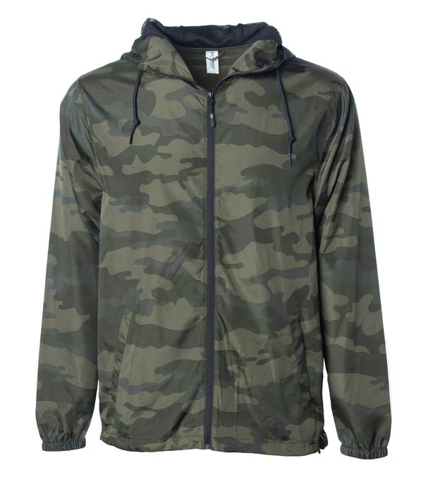 Decoy Windbreaker Lightweight Packable hood mesh