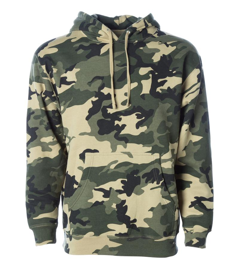 Cocoon Hoodie pullover camo hoodie forest army