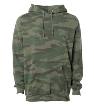 Cocoon Hoodie pullover camo hoodie army