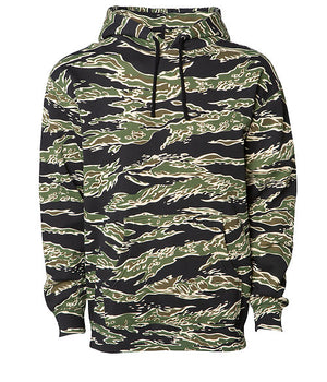Tank Camo Heavyweight Fleece Pull Over