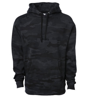 Night Camo Heavyweight Fleece Pull Over