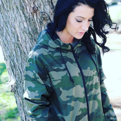 Decoy Camo Windbreaker Lightweight Packable Jacket