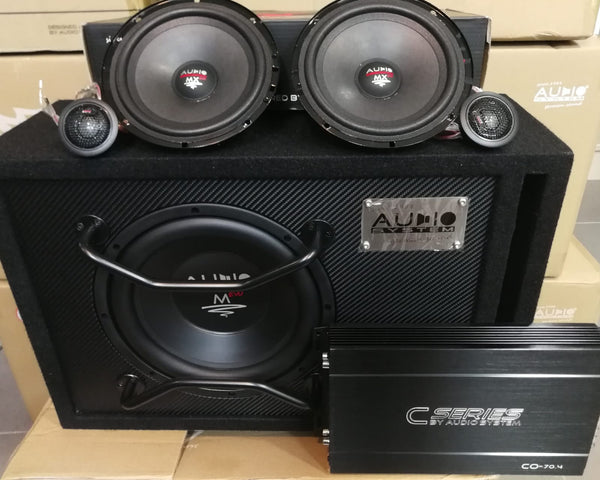 Audio system Germany co-sets mx-165 evo 3 co-70.4 m-10new+kit cabels -