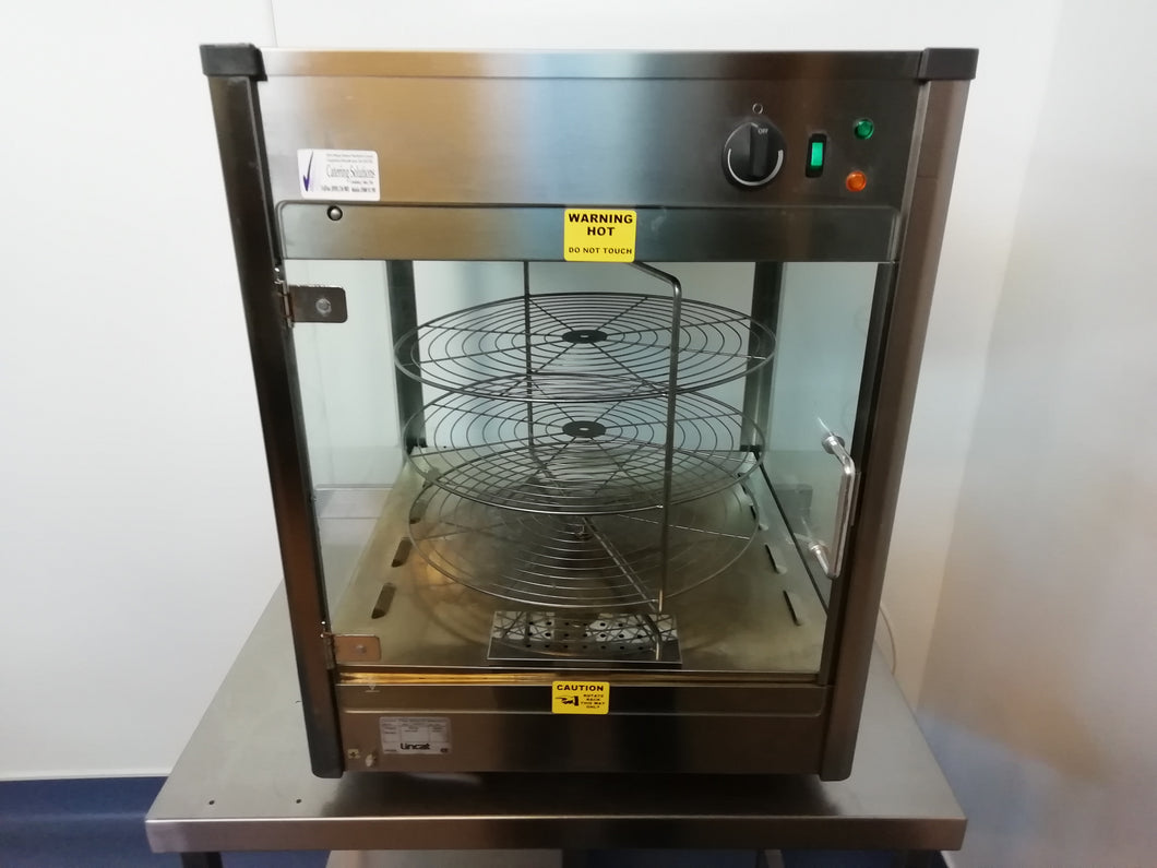 Lincat PM318 Upright Heated Merchandiser With Rotating Rack (Reconditioned)