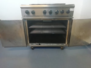 Parry P6BO 6 Burner Range (Reconditioned)