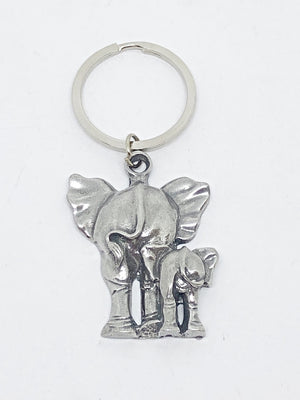 Keyring - Elephant Bum Design