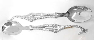 Salad Server Set - Giraffe Design