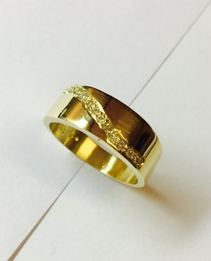Yellow Gold Engagement or Dress Ring