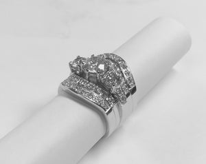 White Gold Engagement Ring or Wedding Band