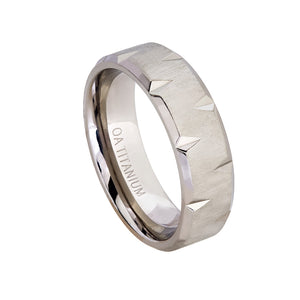 Titanium Wedding Ring for Men