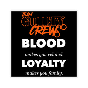 BLOOD-Cut Stickers