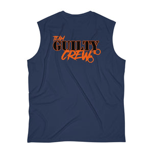 Men's Sleeveless Performance Tee  logo front and back