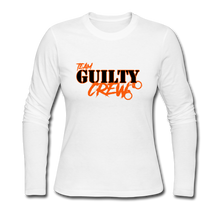 Load image into Gallery viewer, Women's Long Sleeve Jersey T-Shirt - white