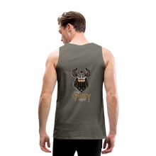 Load image into Gallery viewer, Men's Premium Tank - asphalt gray