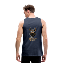 Load image into Gallery viewer, Men's Premium Tank - navy