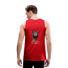 Load image into Gallery viewer, Men's Premium Tank - red