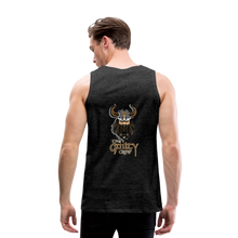 Load image into Gallery viewer, Men's Premium Tank - charcoal gray