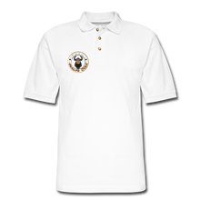 Load image into Gallery viewer, Men's Pique Polo Shirt - white