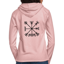 Load image into Gallery viewer, Unisex Lightweight Terry Hoodie - cream heather pink