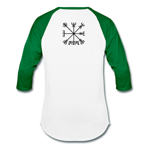 Baseball T-Shirt - white/kelly green