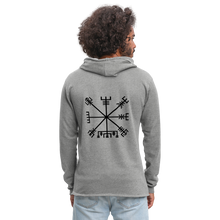 Load image into Gallery viewer, Unisex Lightweight Terry Hoodie - heather gray