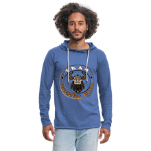 Load image into Gallery viewer, Unisex Lightweight Terry Hoodie - heather Blue