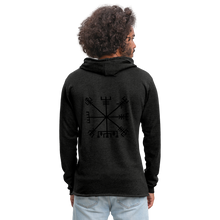Load image into Gallery viewer, Unisex Lightweight Terry Hoodie - charcoal gray