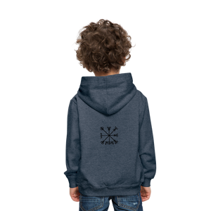 Kids' Premium Hoodie - heather denim