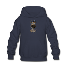 Load image into Gallery viewer, Kids' Hoodie - navy