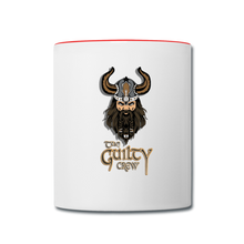 Load image into Gallery viewer, Contrast Coffee Mug - white/red