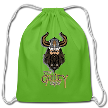 Load image into Gallery viewer, Cotton Drawstring Bag - clover