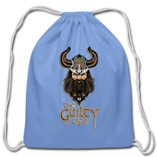 Load image into Gallery viewer, Cotton Drawstring Bag - carolina blue