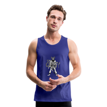 Load image into Gallery viewer, Men's Premium viking Tank - royal blue